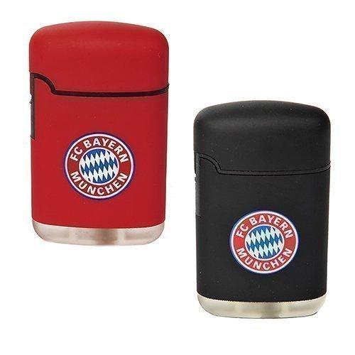 Feuerzeug-FC-Bayern-Mnchen-Easy-Torch-Rubber-2er-Set-rot-und-schwarz-0
