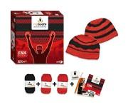 Noris-Spiele-606311349-My-Boshi-Fan-Mtze-in-den-Vereinsfarben-rot-schwarz-0-2