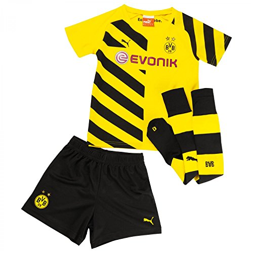PUMA-Kinder-Baby-Trikot-Set-BVB-Home-Minikit-with-Socks-0