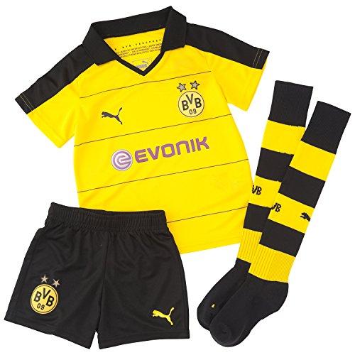 PUMA-Kinder-Stutzen-BVB-Home-Minikit-mit-Socks-und-Sponsor-0