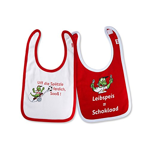2er-Set-VFB-Stuttgart-Baby-Ltzchen-rot-weiss-100-Baumwolle-FANARTIKEL-Gre-ONESIZE-0
