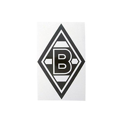AUFKLEBER-STICKER-Raute-schwarz-VFL-BORUSSIA-MNCHENGLADBACH-0