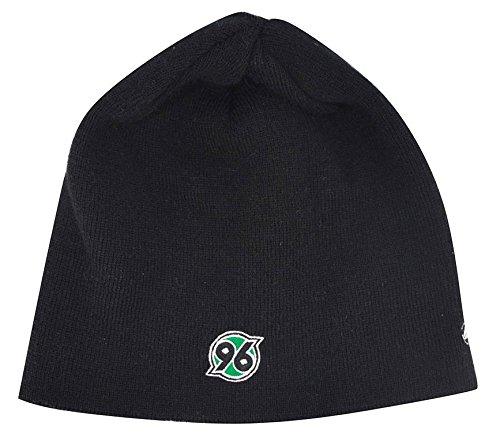 Jako-Hannover-96-Beanie-Mtze-schwarz-schwarz-Senior-0