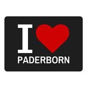 Mousepad-Classic-I-Love-Paderborn-schwarz-0