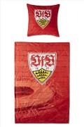 VFB-Stuttgart-Bettwsche-100-Baumwolle-Kissen-80x80cm-Decke-135×200-cm-Design-Stadion-Rot-0-0