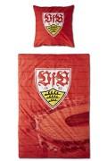 VFB-Stuttgart-Bettwsche-100-Baumwolle-Kissen-80x80cm-Decke-135×200-cm-Design-Stadion-Rot-0