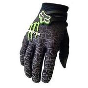 1-Paar-Ludan-Ungeheuer-Hohe-Qualitt-Schwarz-Nylon-Volle-Finger-Handschuhe-Schutz-Offroad-Enduro-Fahrradhandschuhe-M-L-XL-Gre-M-0-0