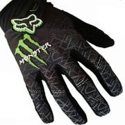 1-Paar-Ludan-Ungeheuer-Hohe-Qualitt-Schwarz-Nylon-Volle-Finger-Handschuhe-Schutz-Offroad-Enduro-Fahrradhandschuhe-M-L-XL-Gre-M-0-1