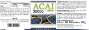 ACAI-Beere-30000-Ultra-Hochdosiert-50-Tage-Kur-Brasilianischer-Acai-Berry-Extrakt-150-Tabletten-0-1