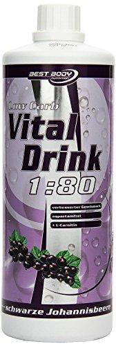 Best-Body-Nutrition-Low-Carb-Vital-Drink-schwarze-Johannisbeere-1000ml-Flasche-0