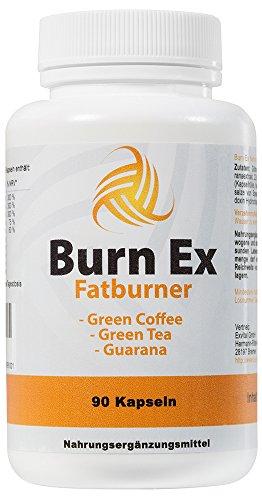 Burn-Ex-Fatburner-Dit-90-Kapseln-1800-mg-Grne-Kaffebohnen-Grner-Tee-Guarana-0