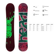 HEAD-FORCE-I-KERS-1415-Unisex-Allmountain-Freeride-Freestyle-Snowboard-331124-0