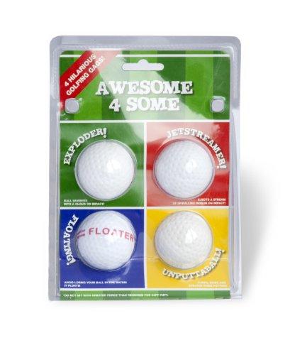 Second-Chance-Die-witzigen-4-Golf-Spielblle-0
