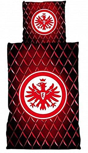 Bertels-1051917-Eintracht-Frankfurt-Bettwsche-Linon-Strucktur-135x200cm-0