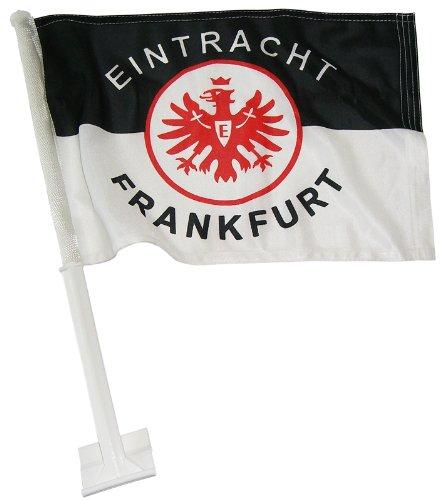 Trade-Con-Autofahne-Eintracht-Frankfurt-SchwarzWeissRot-30x45cm-0