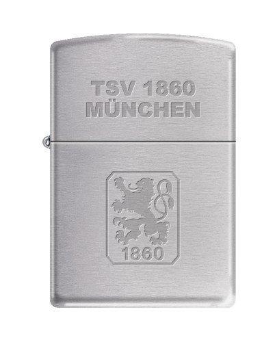 Zippo-2003196-Feuerzeug-TSV-1860-Mnchen-Offizielles-Lizenz-chrom-brushed-0