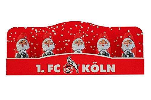 1-FC-Kln-Massiv-Weihnachtsmnner-5er-Pack-Nikoluse-0