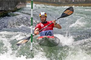 Hannes Aigner in Aktion: Mit Konzentration und körperlicher Fitness dem Erfolg entgegen. Foto: djd/CH Alpha Sport/Gerd Schaller